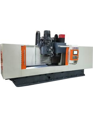 CNC double heads vertical milling machine