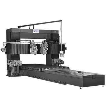 VM- 1630NCD  Moving beam-Gantry milling